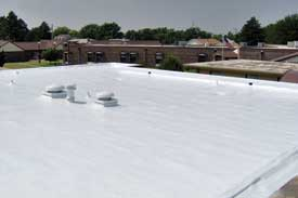 Ness Hospital After Spray Polyurethane Foam Roof Systems